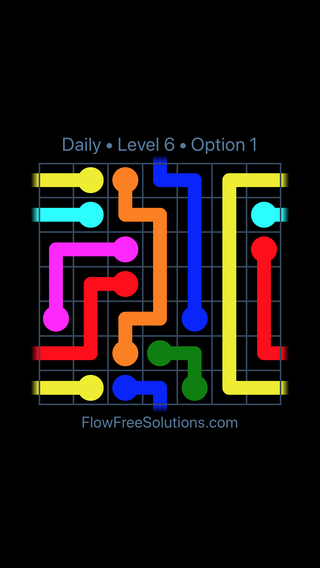 Solution and Answer to the Puzzle for Warps Date Monday, February 11, 2019 Level 6