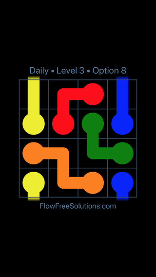 Solution and Answer to the Puzzle for Warps Date Tuesday, February 12, 2019 Level 3