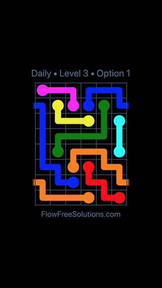 Solution and Answer to the Puzzle for Warps Date Wednesday, February 13, 2019 Level 3