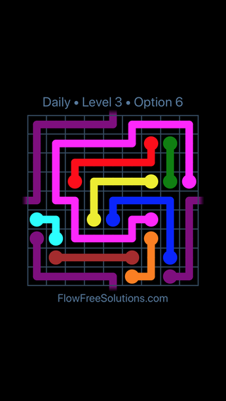 Solution and Answer to the Puzzle for Warps Date Friday, June 8, 2018 Level 3