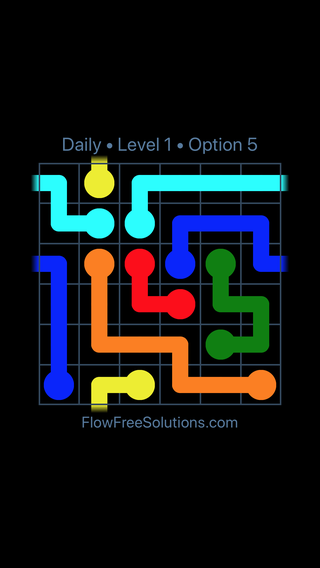 Solution and Answer to the Puzzle for Warps Date Sunday, April 4, 2021 Level 1