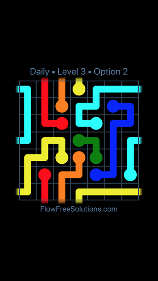 Solution and Answer to the Puzzle for Warps Date Sunday, April 4, 2021 Level 3