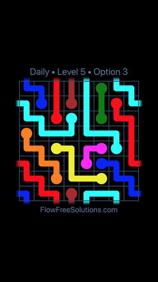 Solution and Answer to the Puzzle for Warps Date Sunday, March 10, 2019 Level 5