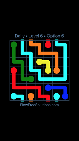 Solution and Answer to the Puzzle for Warps Date Sunday, January 14, 2018 Level 6