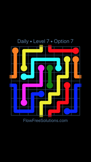Solution and Answer to the Puzzle for Warps Date Sunday, March 10, 2019 Level 7