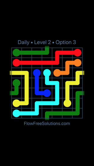 Solution and Answer to the Puzzle for Warps Date Sunday, June 10, 2018 Level 2