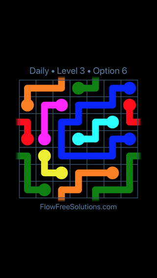 Solution and Answer to the Puzzle for Warps Date Sunday, June 10, 2018 Level 3
