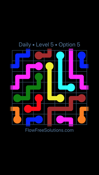 Solution and Answer to the Puzzle for Warps Date Sunday, June 10, 2018 Level 5