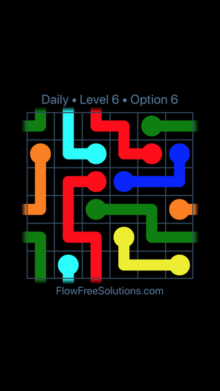 Solution and Answer to the Puzzle for Warps Date Sunday, June 10, 2018 Level 6
