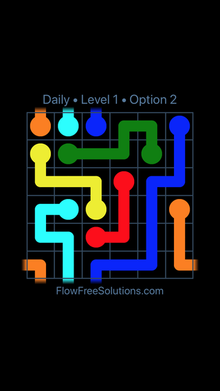 Solution and Answer to the Puzzle for Warps Date Tuesday, June 12, 2018 Level 1