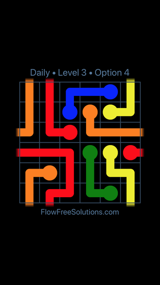 Solution and Answer to the Puzzle for Warps Date Tuesday, June 12, 2018 Level 3