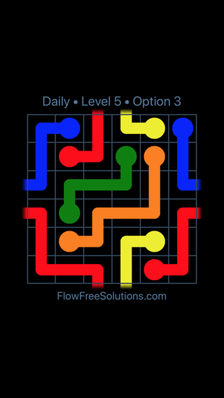Solution and Answer to the Puzzle for Warps Date Tuesday, June 12, 2018 Level 5
