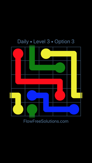 Solution and Answer to the Puzzle for Warps Date Thursday, June 14, 2018 Level 3