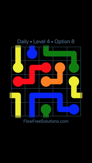 Solution and Answer to the Puzzle for Warps Date Thursday, June 14, 2018 Level 4