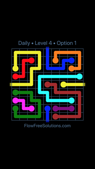 Solution and Answer to the Puzzle for Warps Date Friday, August 9, 2019 Level 4