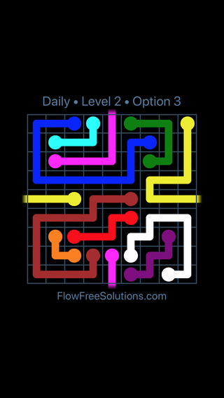 Solution and Answer to the Puzzle for Warps Date Sunday, August 11, 2019 Level 2