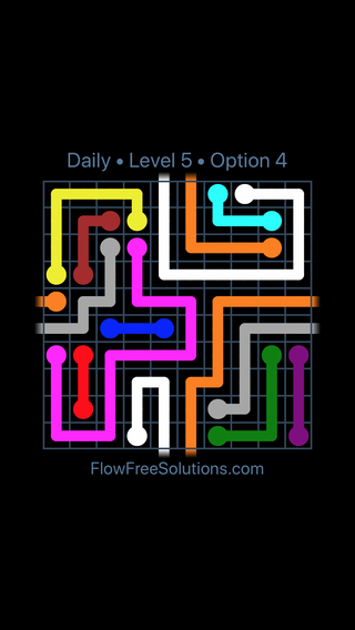 Solution and Answer to the Puzzle for Warps Date Sunday, December 2, 2018 Level 5