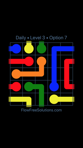 Solution and Answer to the Puzzle for Warps Date Monday, December 3, 2018 Level 3