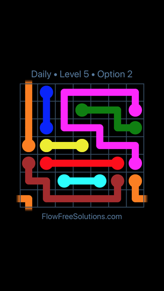 Solution and Answer to the Puzzle for Warps Date Monday, August 12, 2019 Level 5