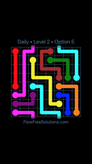 Solution and Answer to the Puzzle for Warps Date Tuesday, December 4, 2018 Level 2