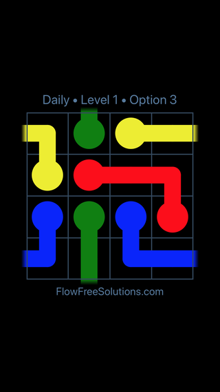 Solution and Answer to the Puzzle for Warps Date Monday, March 11, 2019 Level 1