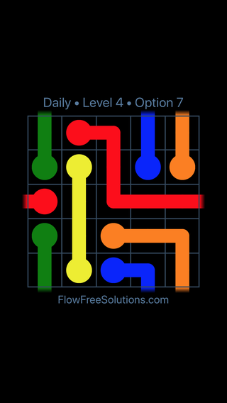 Solution and Answer to the Puzzle for Warps Date Monday, April 5, 2021 Level 4