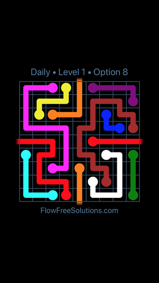 Solution and Answer to the Puzzle for Warps Date Wednesday, September 12, 2018 Level 1