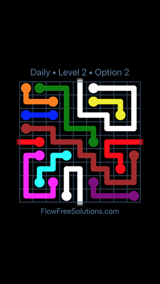 Solution and Answer to the Puzzle for Warps Date Wednesday, September 12, 2018 Level 2