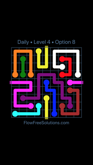 Solution and Answer to the Puzzle for Warps Date Wednesday, September 12, 2018 Level 4