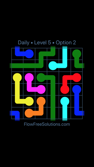 Solution and Answer to the Puzzle for Warps Date Wednesday, December 5, 2018 Level 5