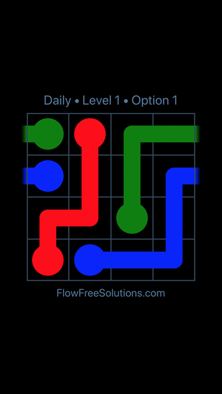 Solution and Answer to the Puzzle for Warps Date Thursday, December 6, 2018 Level 1