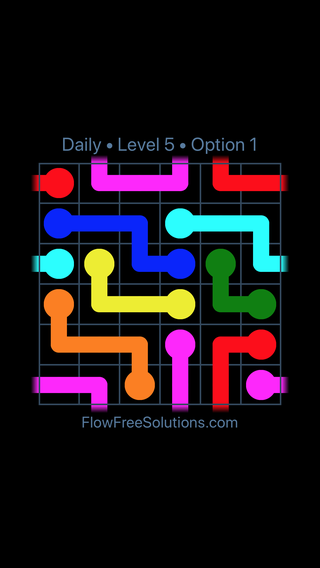 Solution and Answer to the Puzzle for Warps Date Thursday, September 13, 2018 Level 5