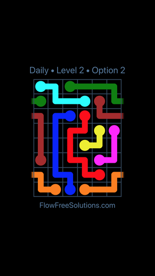 Solution and Answer to the Puzzle for Warps Date Friday, December 7, 2018 Level 2