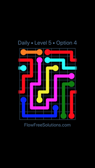 Solution and Answer to the Puzzle for Warps Date Friday, September 14, 2018 Level 5