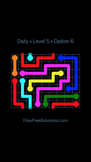 Solution and Answer to the Puzzle for Warps Date Friday, December 7, 2018 Level 5