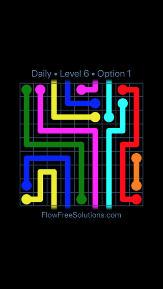 Solution and Answer to the Puzzle for Warps Date Friday, December 7, 2018 Level 6