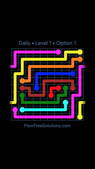 Solution and Answer to the Puzzle for Warps Date Saturday, December 8, 2018 Level 1