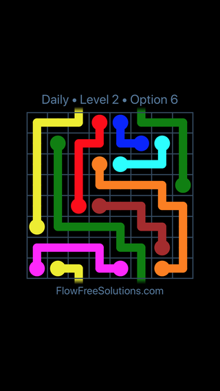 Solution and Answer to the Puzzle for Warps Date Tuesday, March 12, 2019 Level 2
