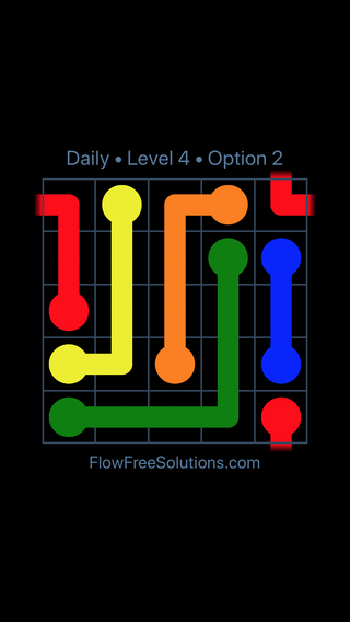 Solution and Answer to the Puzzle for Warps Date Tuesday, March 12, 2019 Level 4