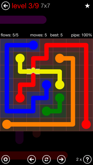 Tuesday, December 6, 2016 Flow Free Level 4 Daily Puzzle ...