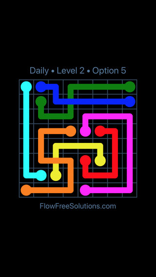 Solution and Answer to the Puzzle for Bridges Date Wednesday, June 8, 2016 Level 2