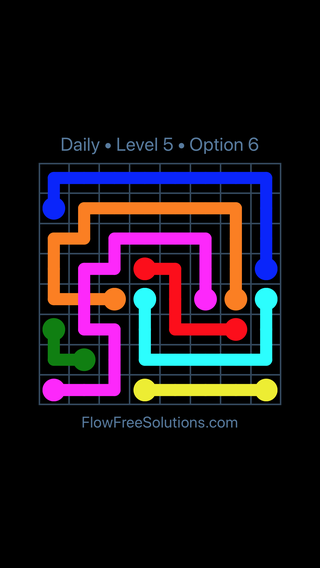 Solution and Answer to the Puzzle for Bridges Date Wednesday, March 16, 2016 Level 5