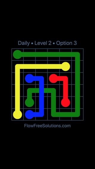 Solution and Answer to the Puzzle for Bridges Date Friday, March 18, 2016 Level 2