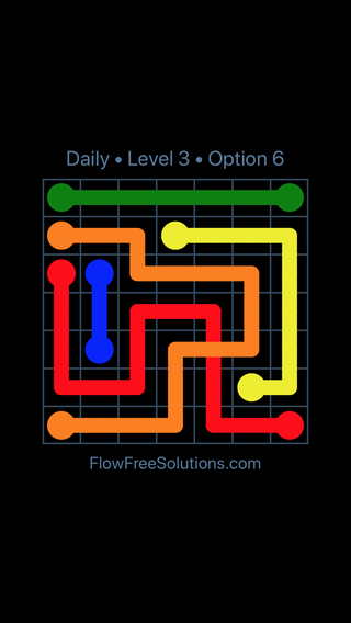 Solution and Answer to the Puzzle for Bridges Date Friday, June 10, 2016 Level 3