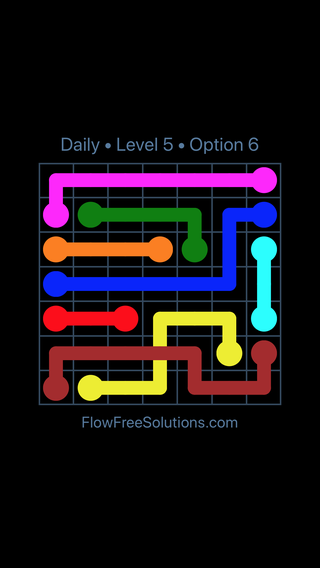 Solution and Answer to the Puzzle for Bridges Date Friday, March 18, 2016 Level 5
