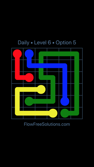 Solution and Answer to the Puzzle for Bridges Date Friday, June 10, 2016 Level 6