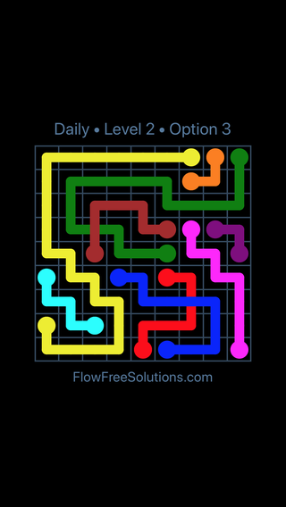 Solution and Answer to the Puzzle for Bridges Date Saturday, July 7, 2018 Level 2