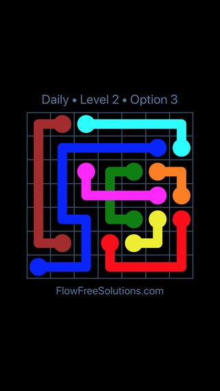 Solution and Answer to the Puzzle for Bridges Date Tuesday, March 22, 2016 Level 2