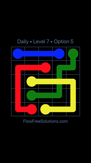 Solution and Answer to the Puzzle for Bridges Date Tuesday, March 22, 2016 Level 7