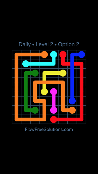 Solution and Answer to the Puzzle for Bridges Date Wednesday, June 15, 2016 Level 2